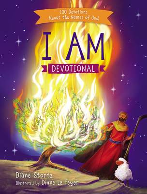 Picture of I am Devotional: 100 Devotions About the Names of God