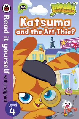 Picture of Moshi Monsters: Katsuma and the Art Thief - Read it Yourself with Ladybird: Level 4
