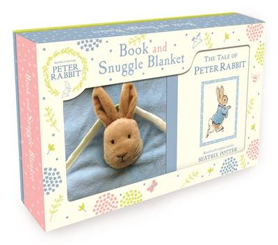 Picture of Peter Rabbit Book and Snuggle Blanket