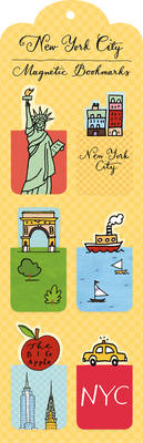 Picture of New York City Magnetic Bookmark