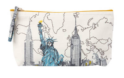 Picture of New York Liberty Handmade Pouch