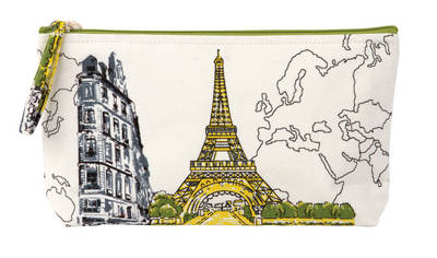 Picture of Paris Eiffel Tower Handmade Pouch: Recipes for the Coolest Cakes in Town