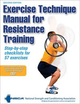 Picture of Exercise Technique Manual for Resistance Training