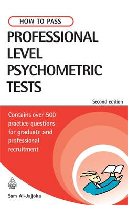 Picture of How to Pass Professional Level Psychometric Tests: Contains Practice Tests for IT, Finance and Recruitment