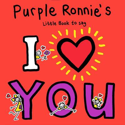 Picture of Purple Ronnie's I Heart You