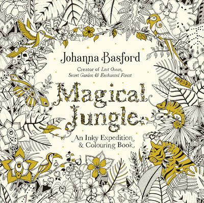 Picture of Magical Jungle: An Inky Expedition & Colouring Book