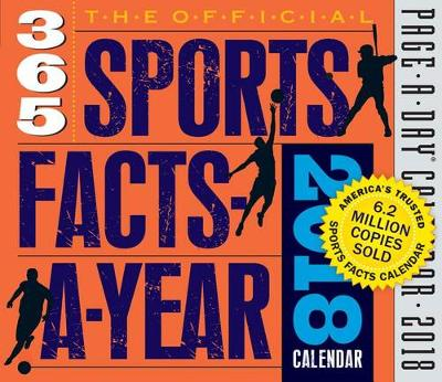 Picture of The Official 365 Sports Facts-A-Year Page-A-Day Calendar 2018