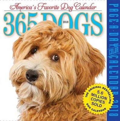 Picture of 365 Dogs Page-A-Day Calendar 2018