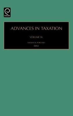 Picture of Advances in Taxation: Vol. 16