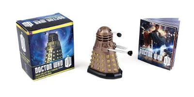 Picture of Doctor Who: Dalek Collectible Figurine and Illustrated Book: The Doctor and the Daleks
