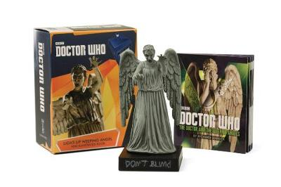 Picture of Doctor Who: Light-Up Weeping Angel and Illustrated Book