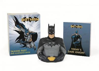 Picture of Batman: Talking Bust and Illustrated Book: Talking Bust and Illustrated Book