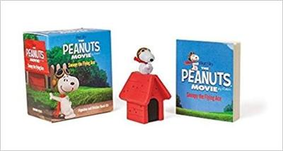 Picture of The Peanuts Movie: Snoopy the Flying Ace: Figurine and Sticker Book Kit