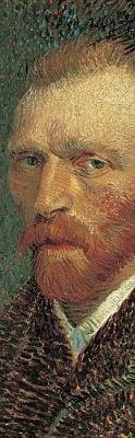 Picture of Van Gogh Self-Portrait Bookmark 9639