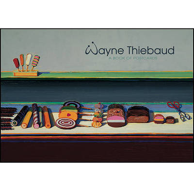 Picture of Wayne Thiebaud Book of Postcards AA280