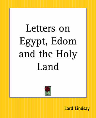 Picture of Letters on Egypt, Edom and the Holy Land