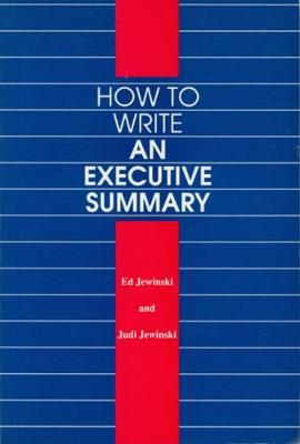 Picture of How to Write an Executive Summary
