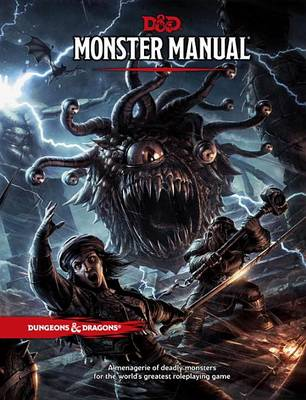 Picture of Monster Manual: A Dungeons & Dragons Core Rulebook