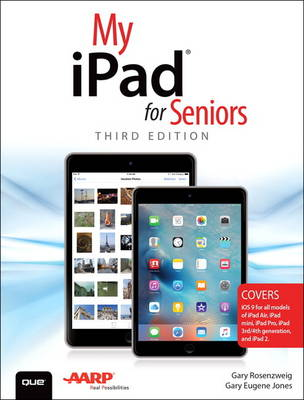 Picture of My iPad for Seniors (Covers iOS 9 for iPad Pro, All Models of iPad Air and iPad Mini, iPad 3rd/4th Generation, and iPad 2)