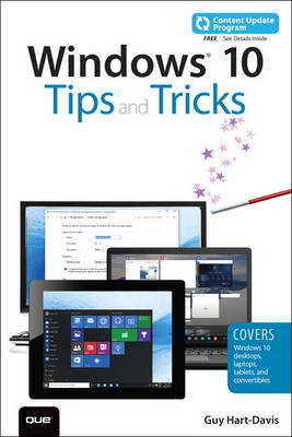 Picture of Windows 10 Tips and Tricks (Includes Content Update Program)