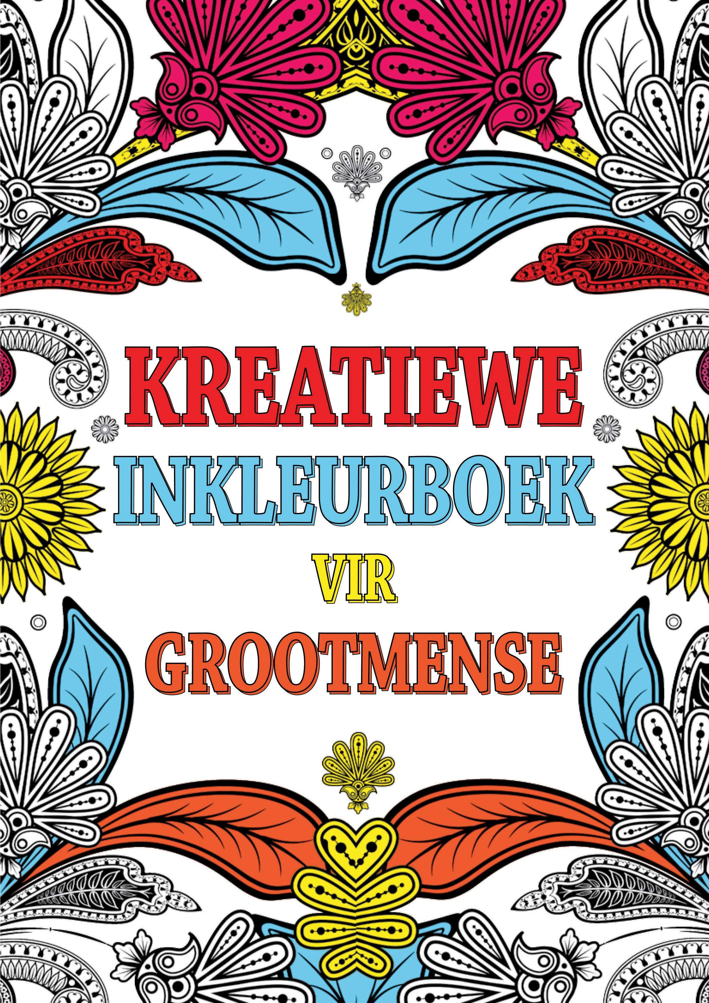 Picture of Kreatiewe inkleurboek vir grootmense