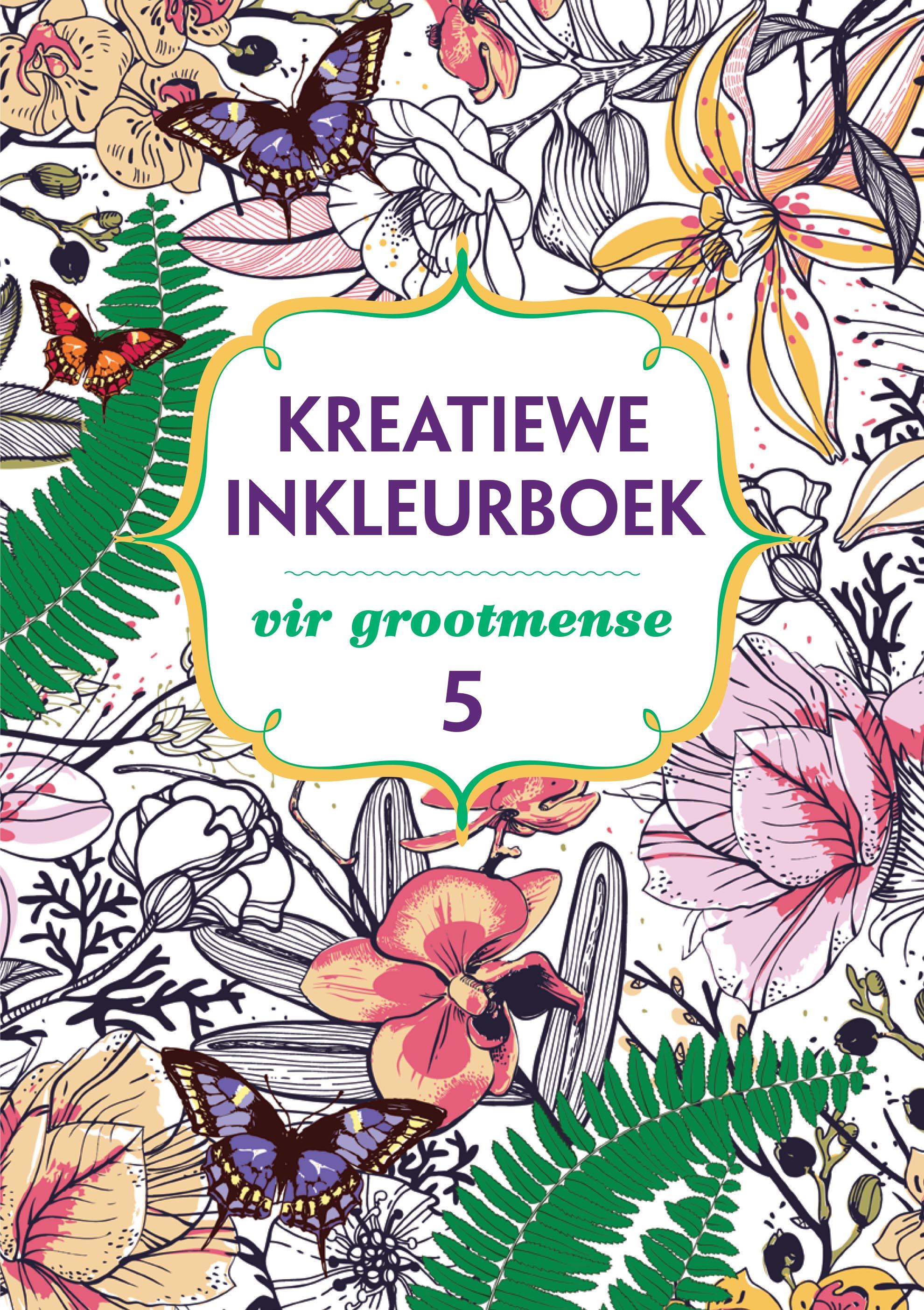 Picture of Kreatiewe inkleurboek vir grootmense 5