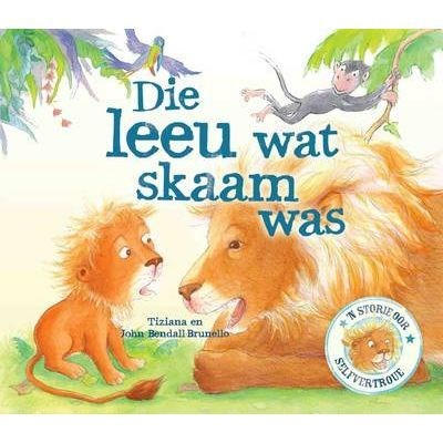 Picture of Die leeu wat skaam was