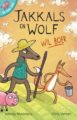Picture of Jakkals en Wolf wil boer
