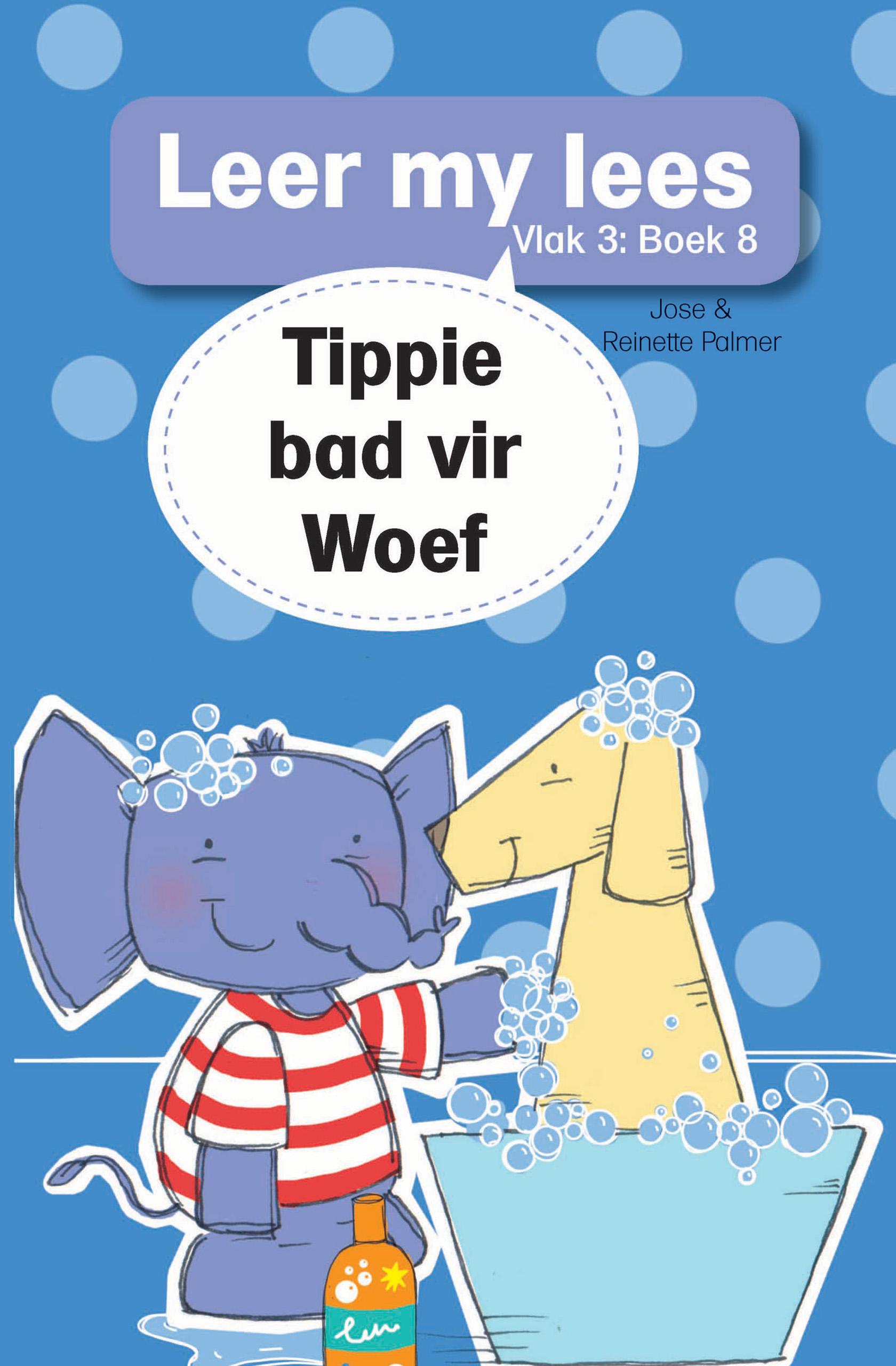 Picture of Tippie bad vir Woef