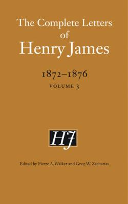 Picture of The Complete Letters of Henry James, 1872-1876