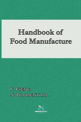 Picture of Handbook of Food Manufacture