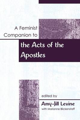 Picture of A Feminist Companion to Acts of the Apostles