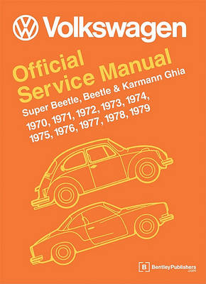 Picture of Volkswagen Super Beetle, Beetle & Karmann Ghia (Type 1) Official Service Manual 1970-1979