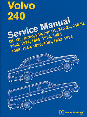 Picture of Volvo 240 Service Manual: Dl, Gl, Turbo, 240, 240 Dl, 240 Gl, 240 Se, 1983, 1984, 1985, 1986, 1987, 1988, 1989, 1990, 1991, 1992, 1993