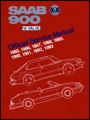 Picture of Saab 900 16 Valve 1985-1993 Official Service Manual