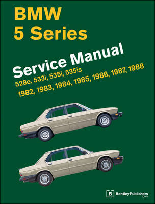 Picture of BMW 5 Series Official Service Manual 1982-1988: 528e, 533i, 535i, 535is (E28)