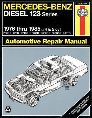 Picture of Mercedes-Benz Diesel 123 Series, 1976 Thru 1985, 200D, 220D, 240D, 240TD, 300D, 300CD, 300TD