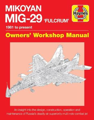 Picture of Mikoyan MiG-29 Fulcrum Manual