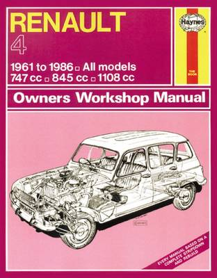 Picture of Renault 4 Owners Workshop Manual: 61-86