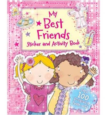 Picture of My Best Friends Activity Book