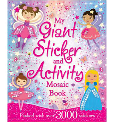 Picture of My Giant Create-A-Picture Sticker Book