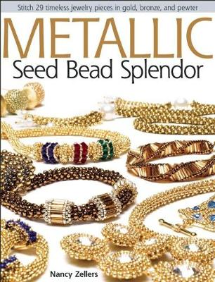 Picture of Metallic Seed Bead Splendor: Stitch 29 Timeless Jewelry Pieces in Gold, Bronze, and Pewter