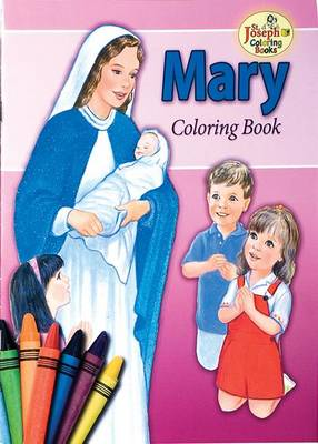 Picture of Coloring Book about Mary