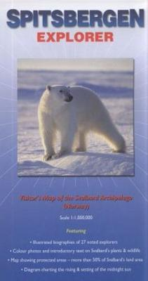 Picture of Spitzbergen Explorer: Map of the Svalbard Archipelago (Including Bear Island)