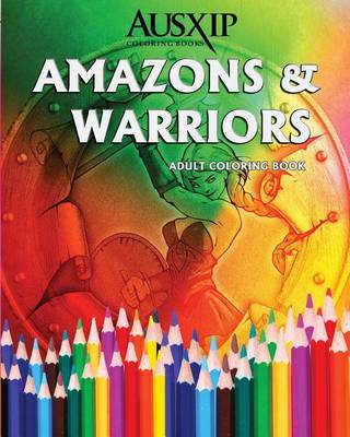 Picture of Amazons & Warriors  : Adult Coloring Book