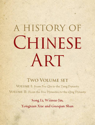Picture of A History of Chinese Art 2 Volume Hardback Set