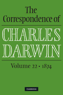 Picture of The Correspondence of Charles Darwin: Volume 22, 1874: Volume 22