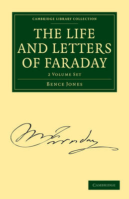 Picture of The Life and Letters of Faraday 2 Volume Paperback Set