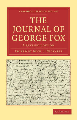 Picture of The Journal of George Fox 2 Part Set: A Revised Edition