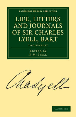 Picture of Life, Letters and Journals of Sir Charles Lyell, Bart 2 Volume Set